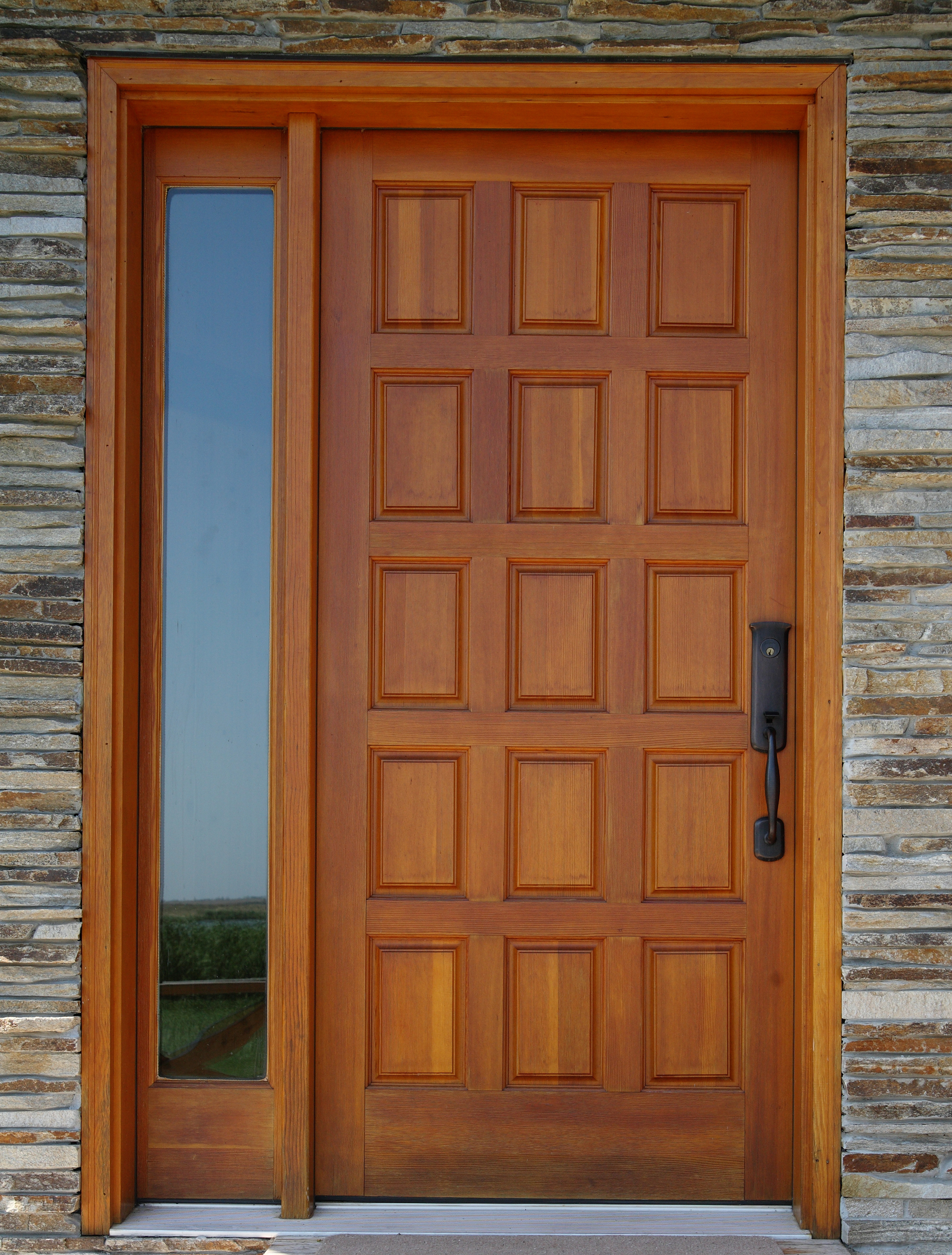 3144 #7E4221 Entry Doors ECO Windows & Doors picture/photo Exterior Fiberglass Doors 39992386
