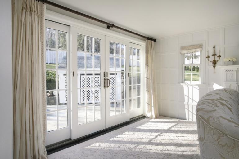 Patio doors eco windows doors for Patio doors with side windows
